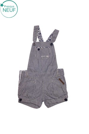 Salopette Short Fille 5 ans Creeks