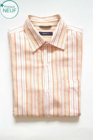 Chemise à manches courtes Homme Taille L Zegna Sport